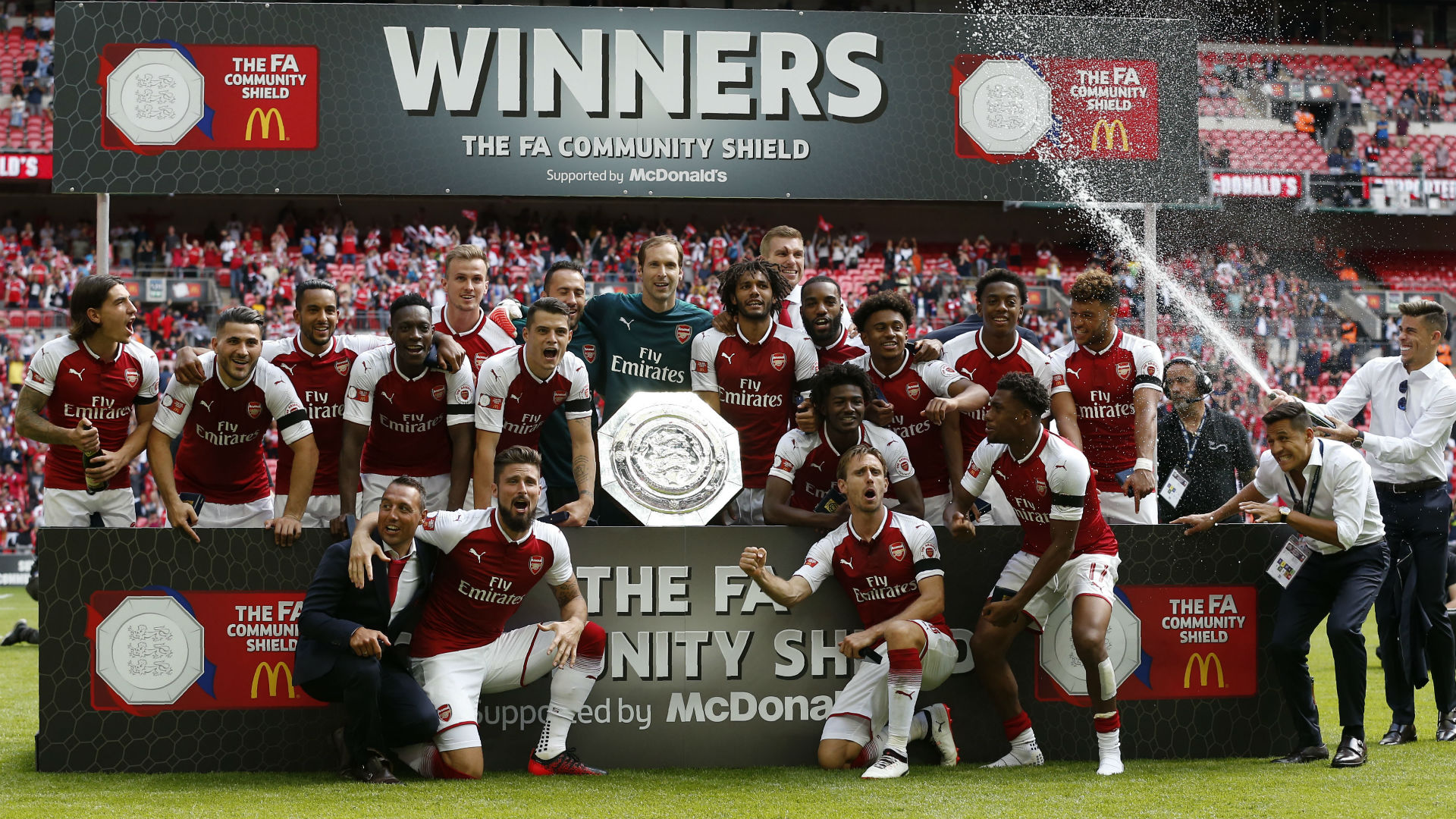 Arsenal Community Shield 2017