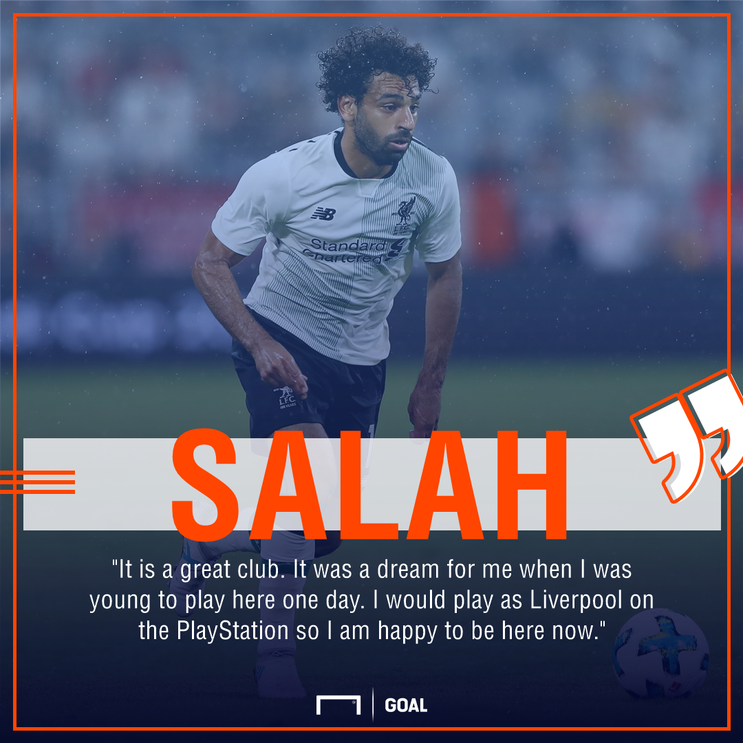 Mohamed Salah Liverpool PlayStation