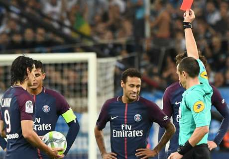 VIDEO: Neymar sent off after headbutt
