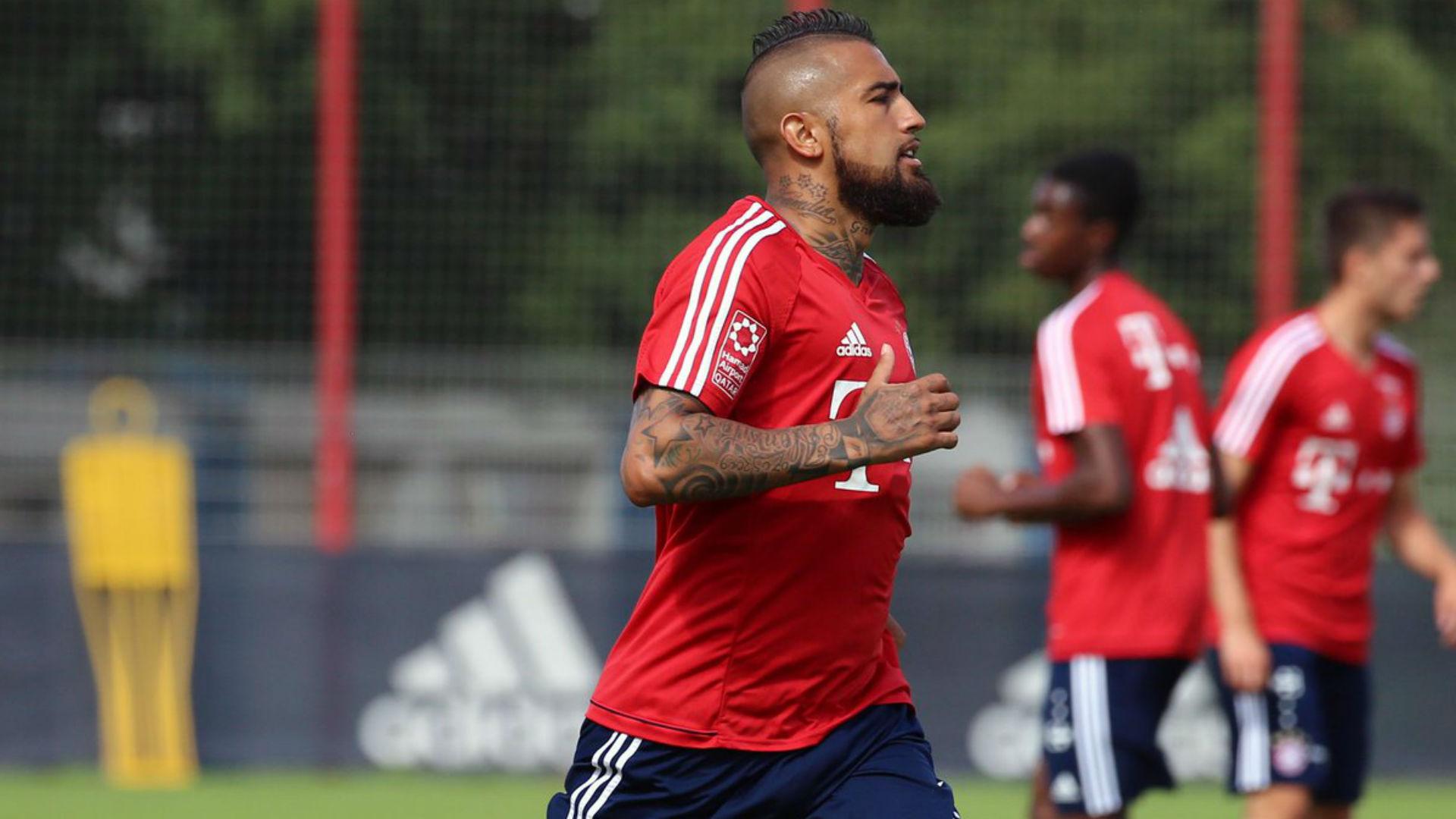 Arturo Vidal vuelve a los entrenamientos en el Bayern