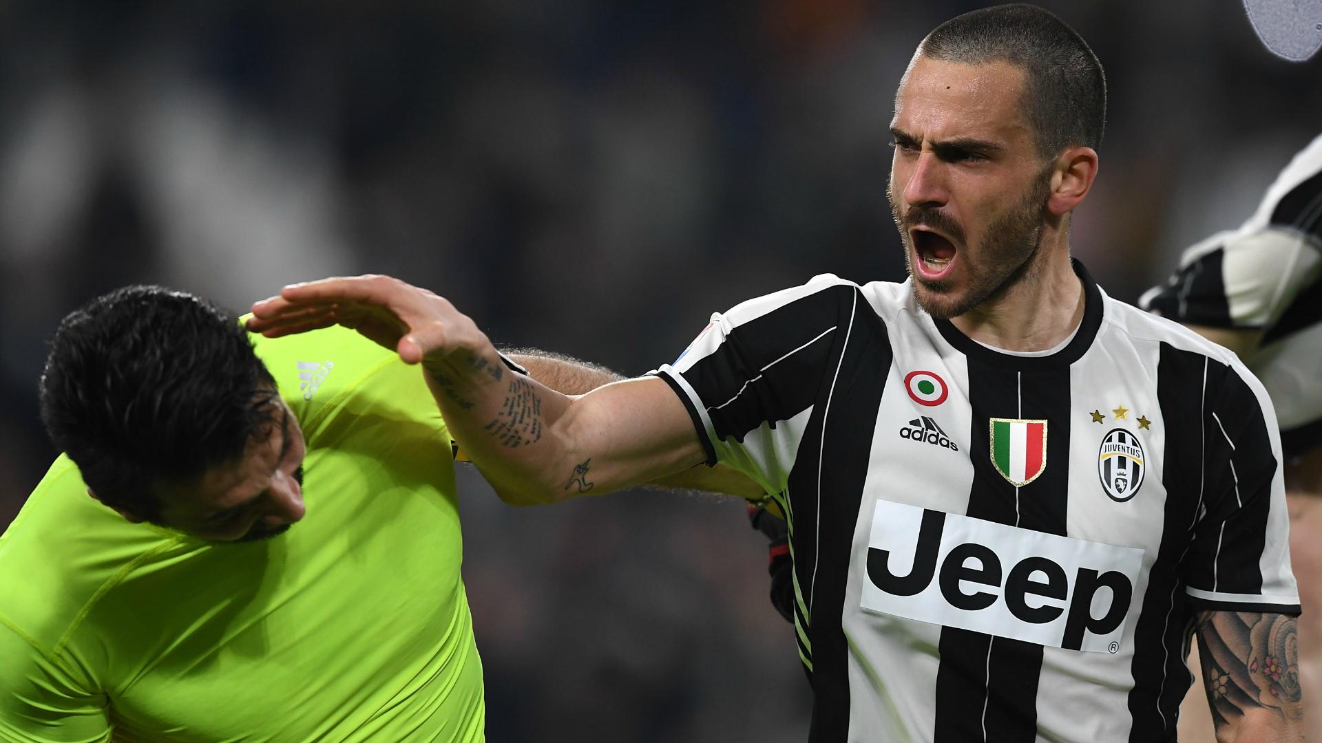 Bonucci-Buffon Juventus