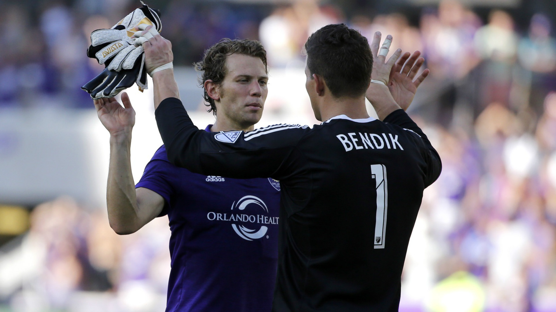 Jonathan Spector Joe Bendik Orlando City MLS 04292017