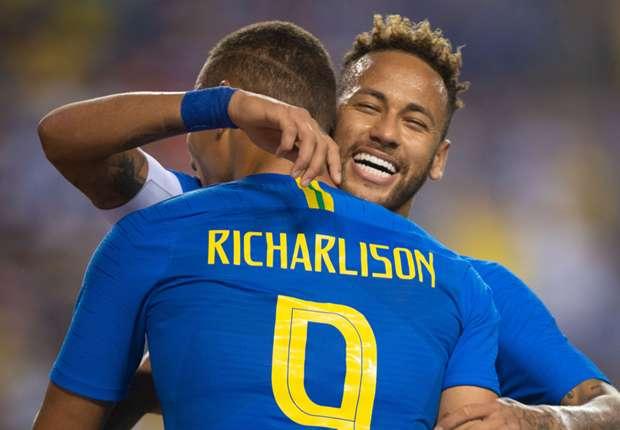 Watch: Neymar's penalty and Richarlison's dream double - Brazil 5-0 Honduras
