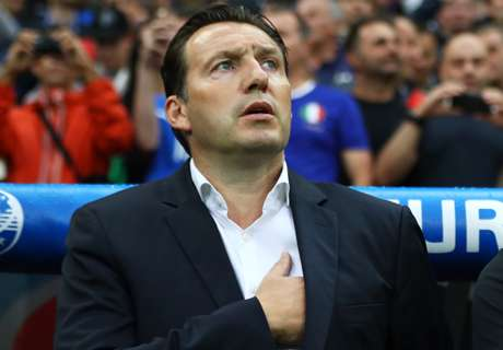 Wilmots sacked as Belgium coach