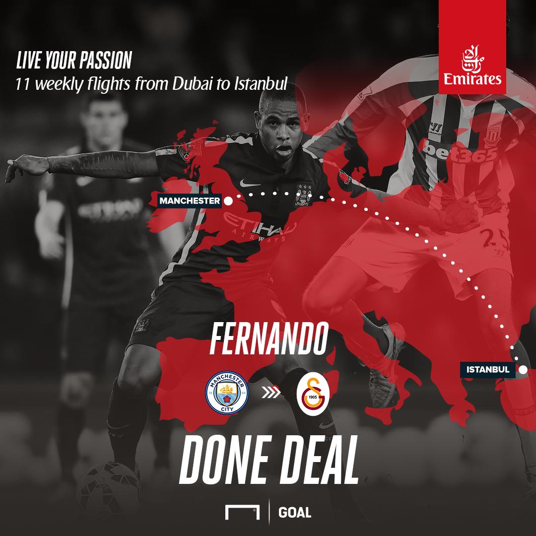 EN Fernando to Galatasray - emirates