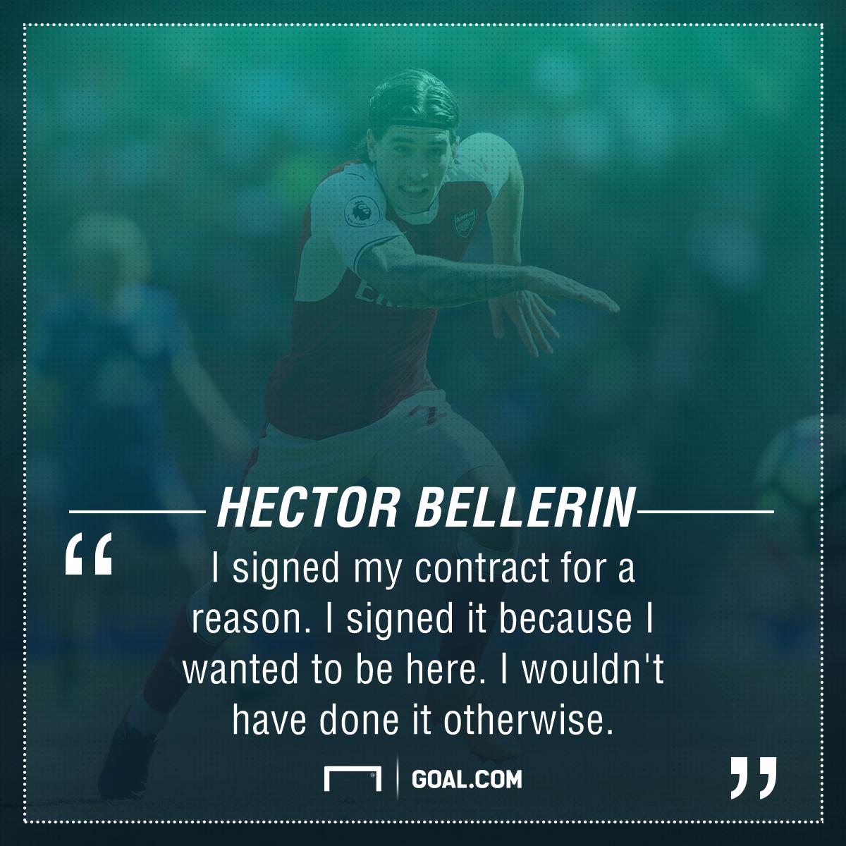 Hector Bellerin Arsenal future