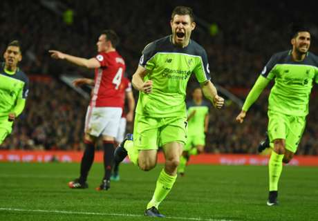 Man Utd-Liverpool 1-1: Milner-Ibra