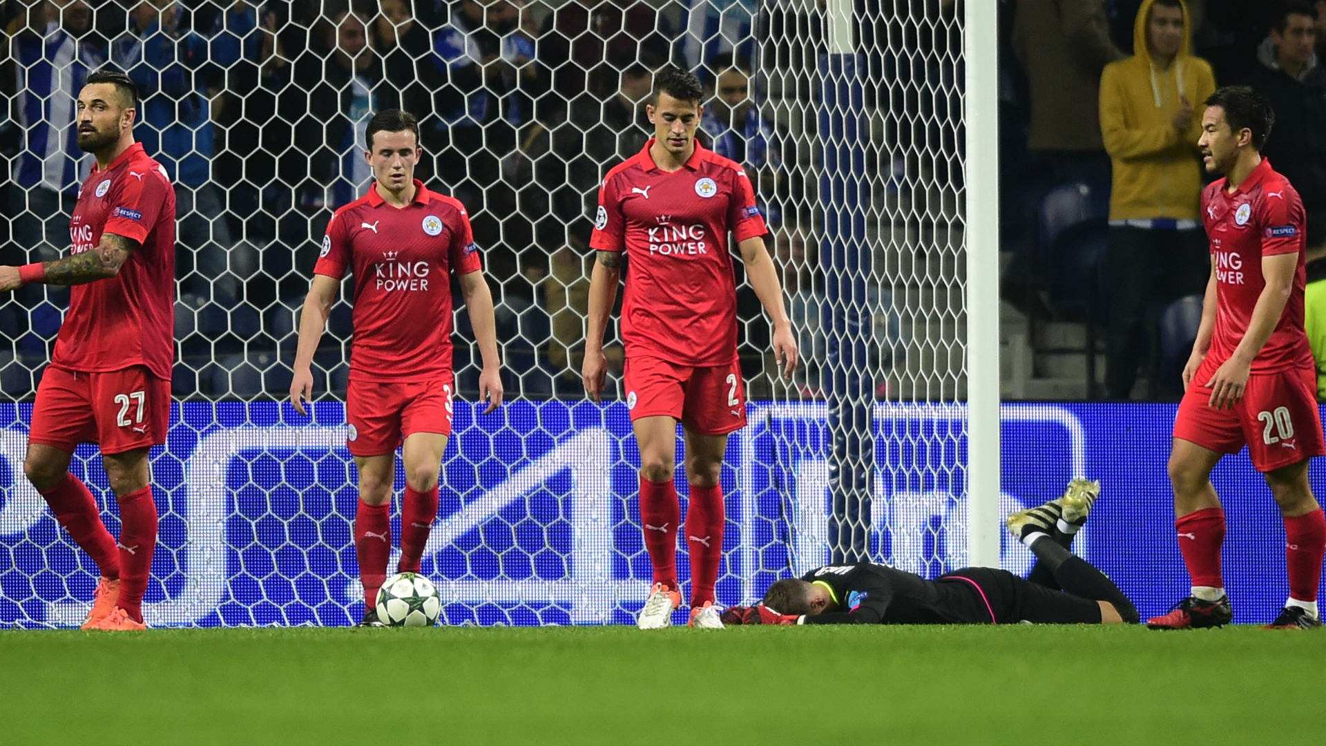 Leicester City Porto Champions League 07122016
