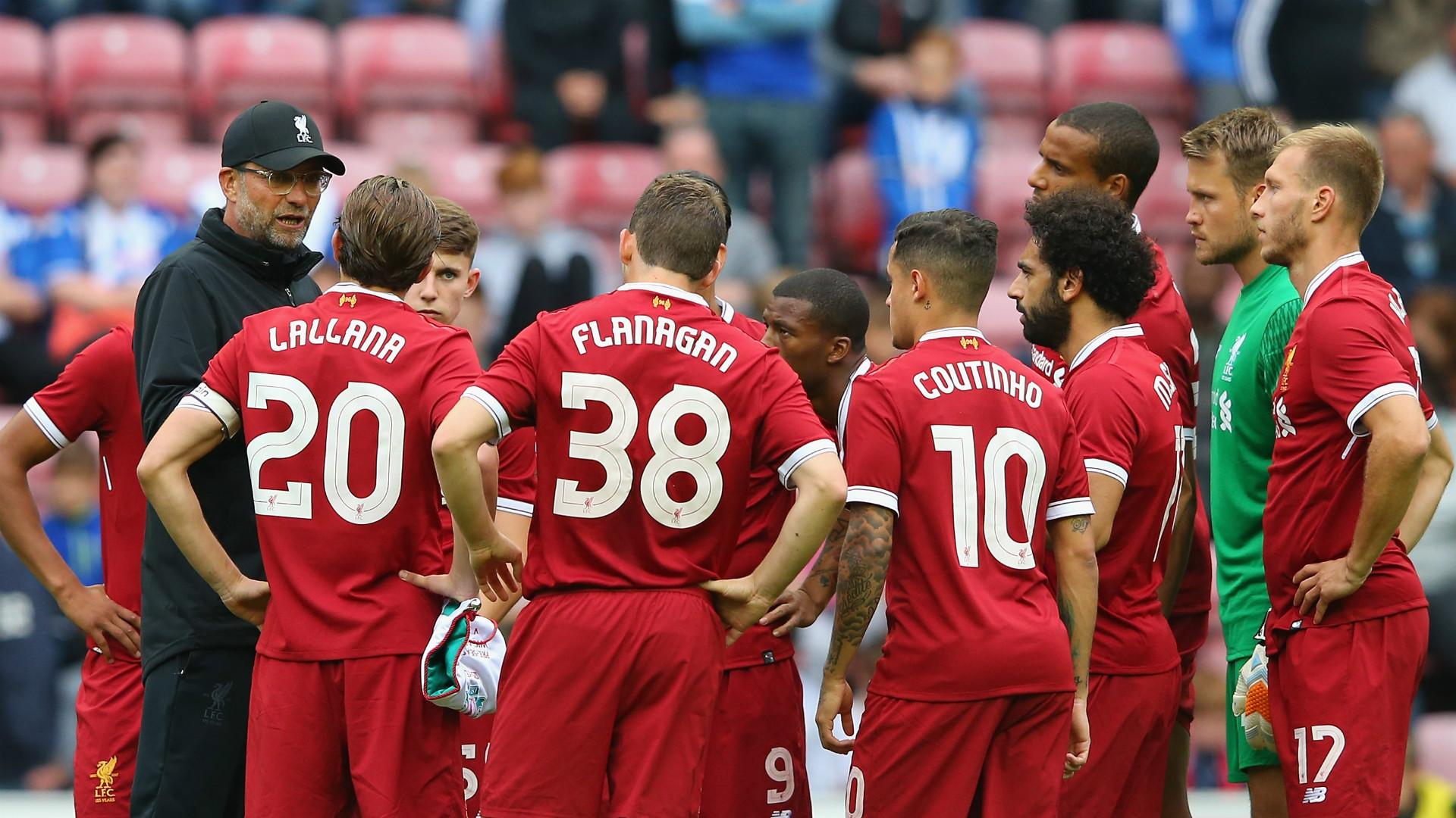 HD Jurgen Klopp Liverpool squad