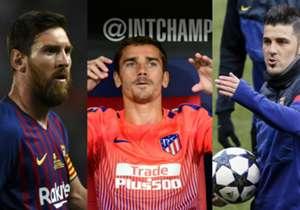 Lionel Messi, Antoine Griezmann, David Villa und Co.: Vor dem LaLiga-Start wirft Goal einen Blick auf die Spieler, die seit 2008 die meisten Scorerpunkte in Spaniens höchster Spielklasse gesammelt haben. (Quelle: Opta)