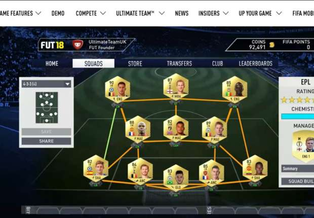 FIFA 18 web app: How to get an early start on your Ultimate Team