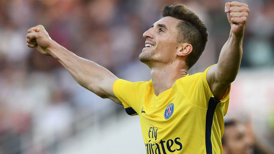 Thomas Meunier Dijon PSG Ligue 1 14102017
