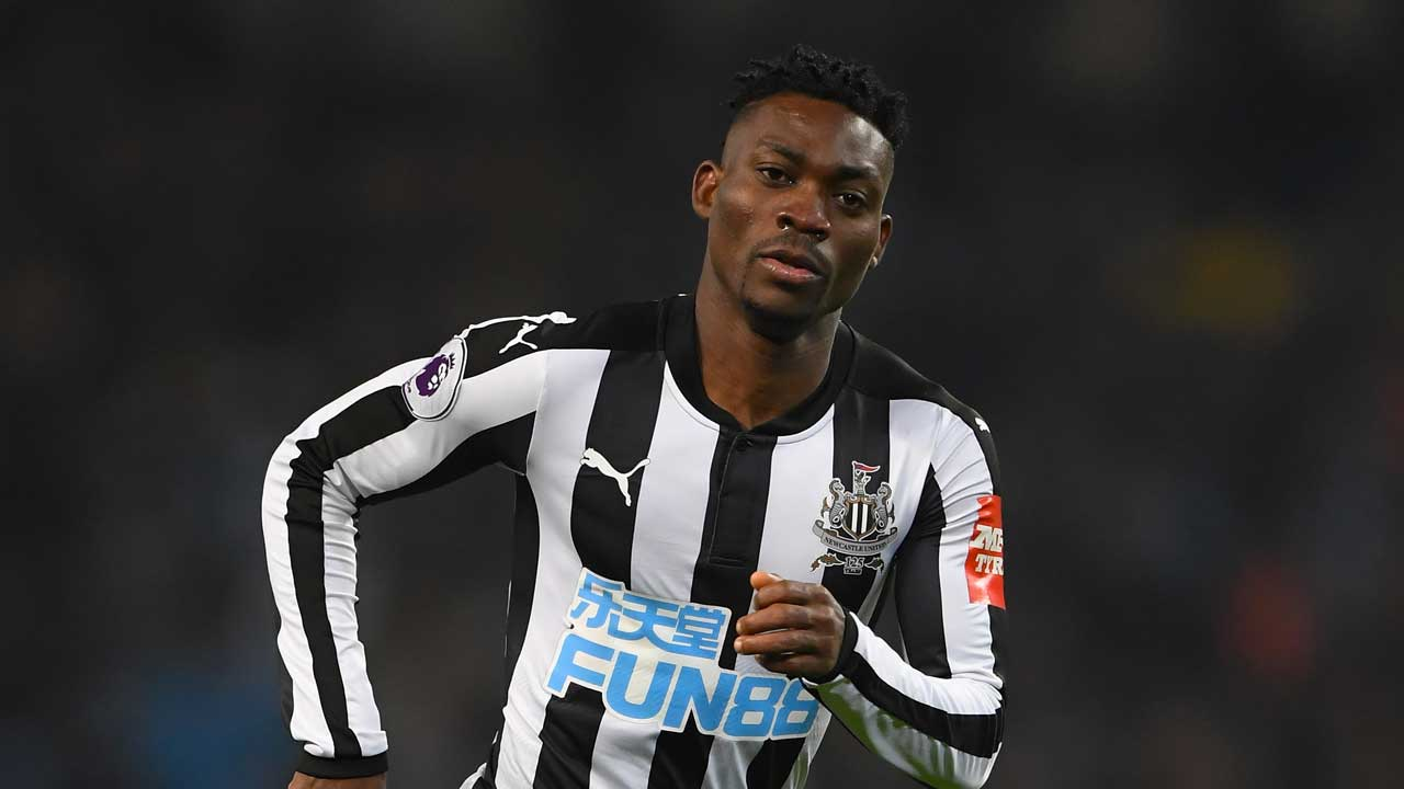 Newcastle United's Atsu ruled out of the season