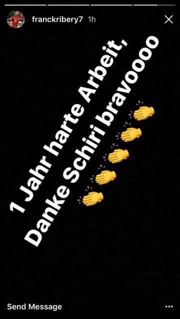 Ribery Instagram 1