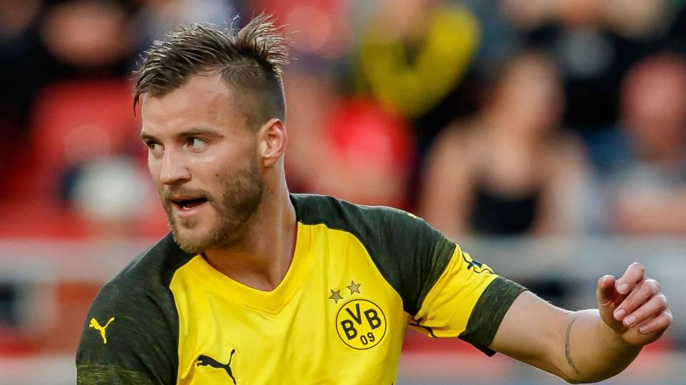 Andriy Yarmolenko Dortmund 2018