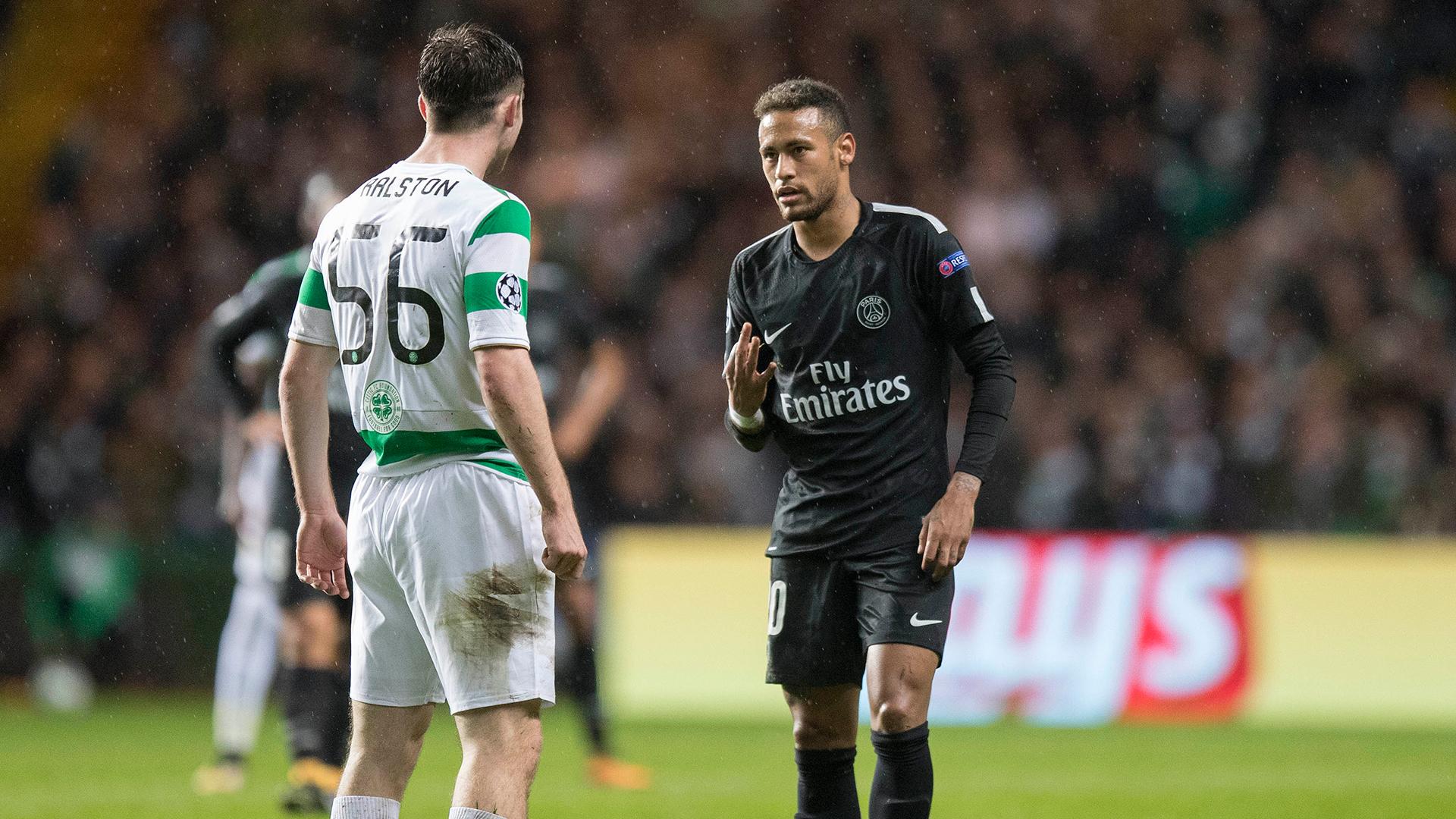 Neymar Ralston PSG Celtic