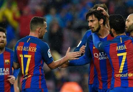 Gomes gatecrashes Messi's party