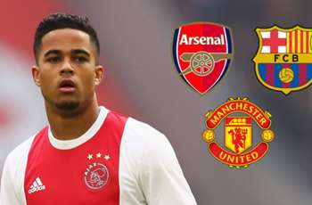Kluivert name-drops Man Utd, Barcelona, Arsenal & more as Ajax star plots transfer move