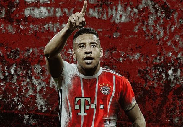 GFX Corentin Tolisso Bayern Munich Jersey Burst