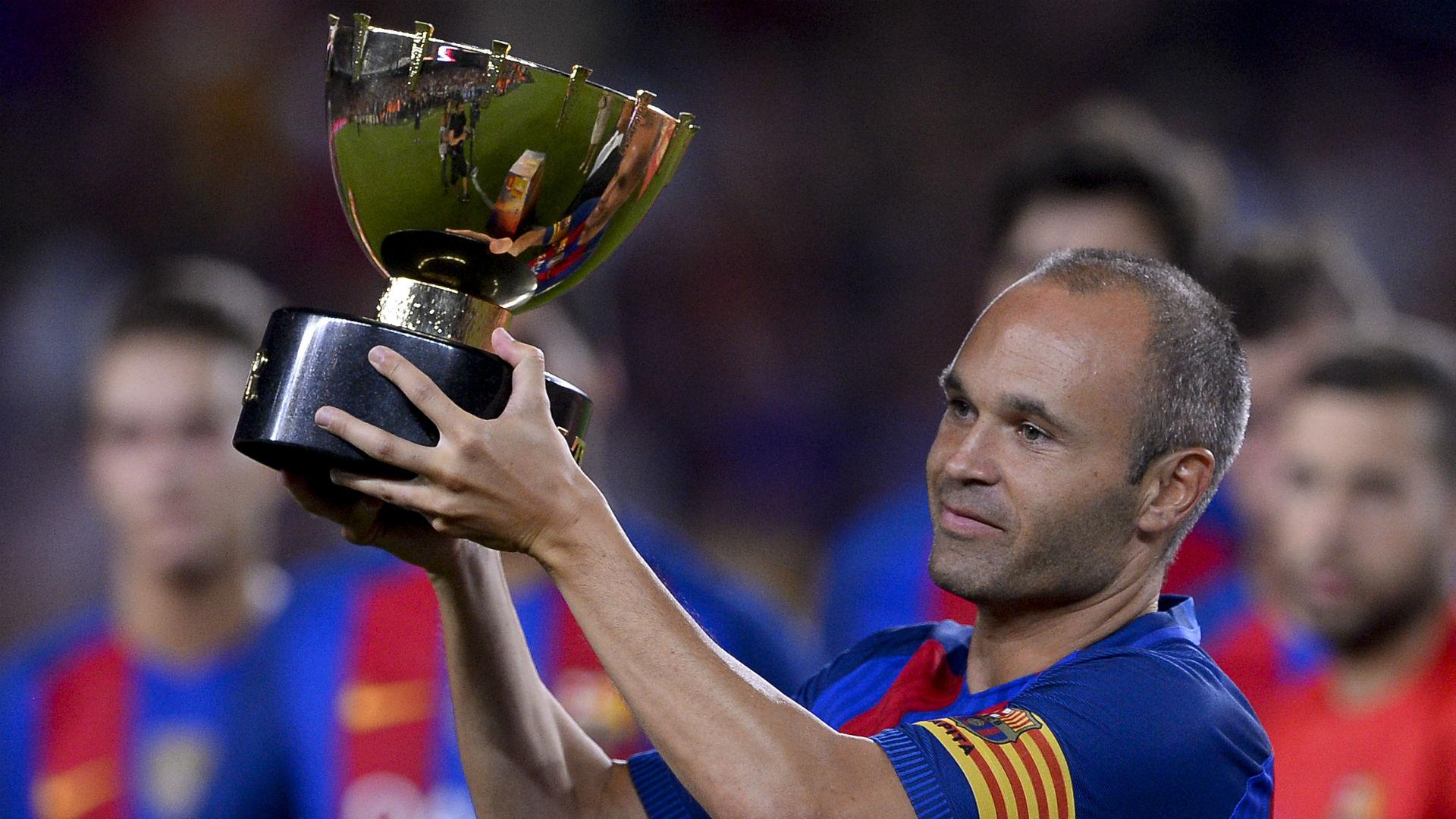 Andres Iniesta Barcelona Joan Gamper Trophy 2016