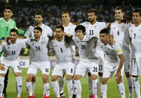 Iran kwalificeert zich voor WK 2018