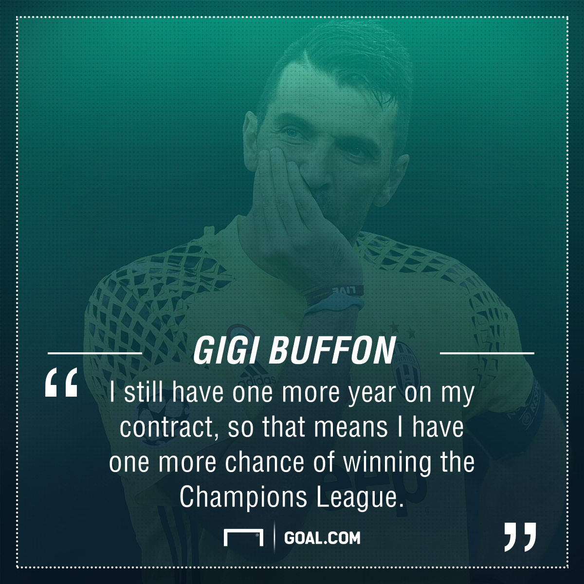 Gianluigi Buffon Champions League