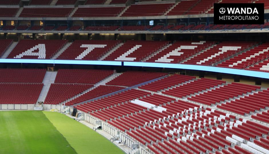 Say hello to the wanda metropolitano atletico set to for Puerta 3 wanda metropolitano