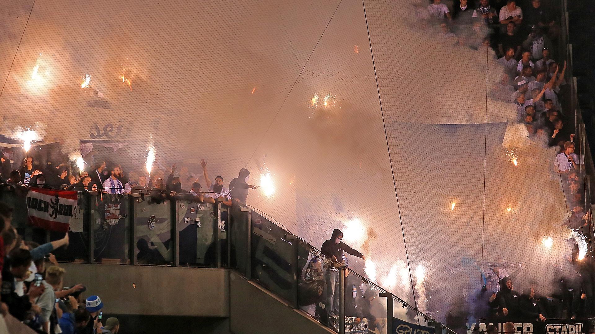 Pyro-Eklat in Rostock: Polizei wirft Offiziellen Mitwisserschaft vor