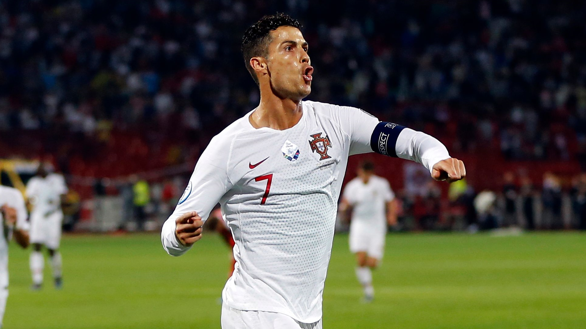 'I'm enjoying this moment' — Ronaldo breaks Euro qualifying goal record in Portugal win