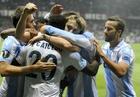 Balotelli non basta, tris della Lazio a Nizza