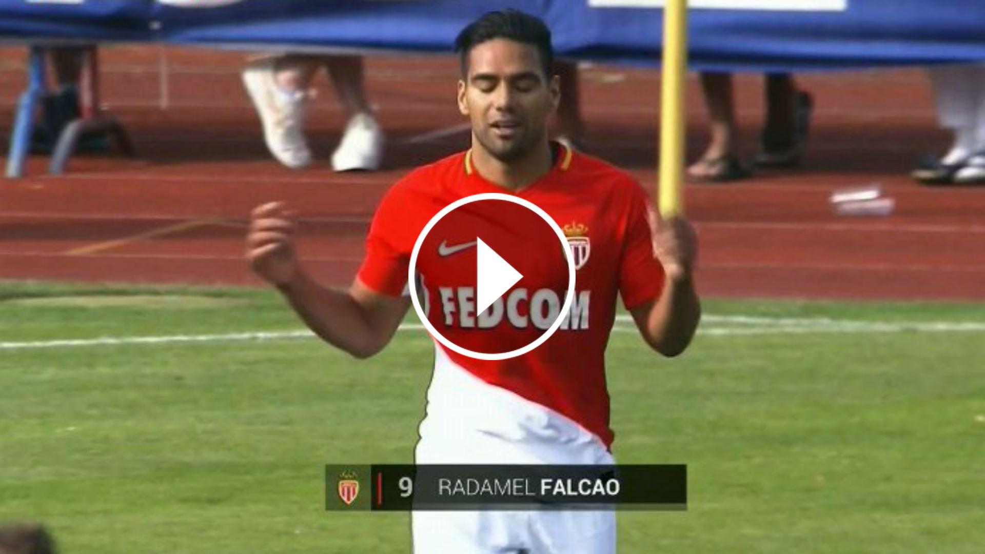 """Volvió al Mónaco, 4 minutos en cancha y gol — Falcao García"""""""