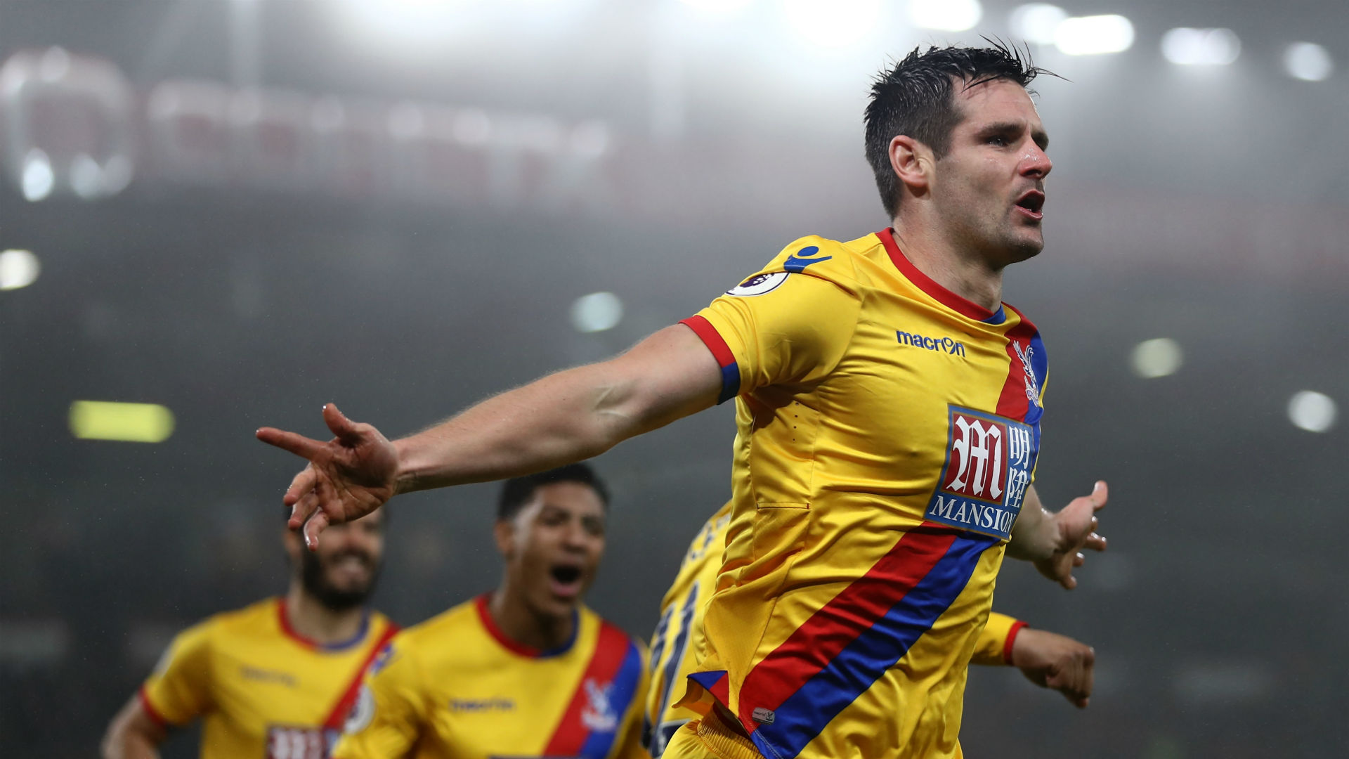 Scott Dann Premier League Bournemouth v Crystal Palace