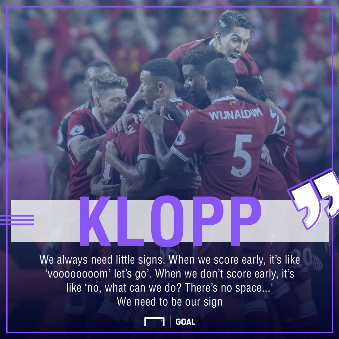 GFX Klopp quote Liverpool