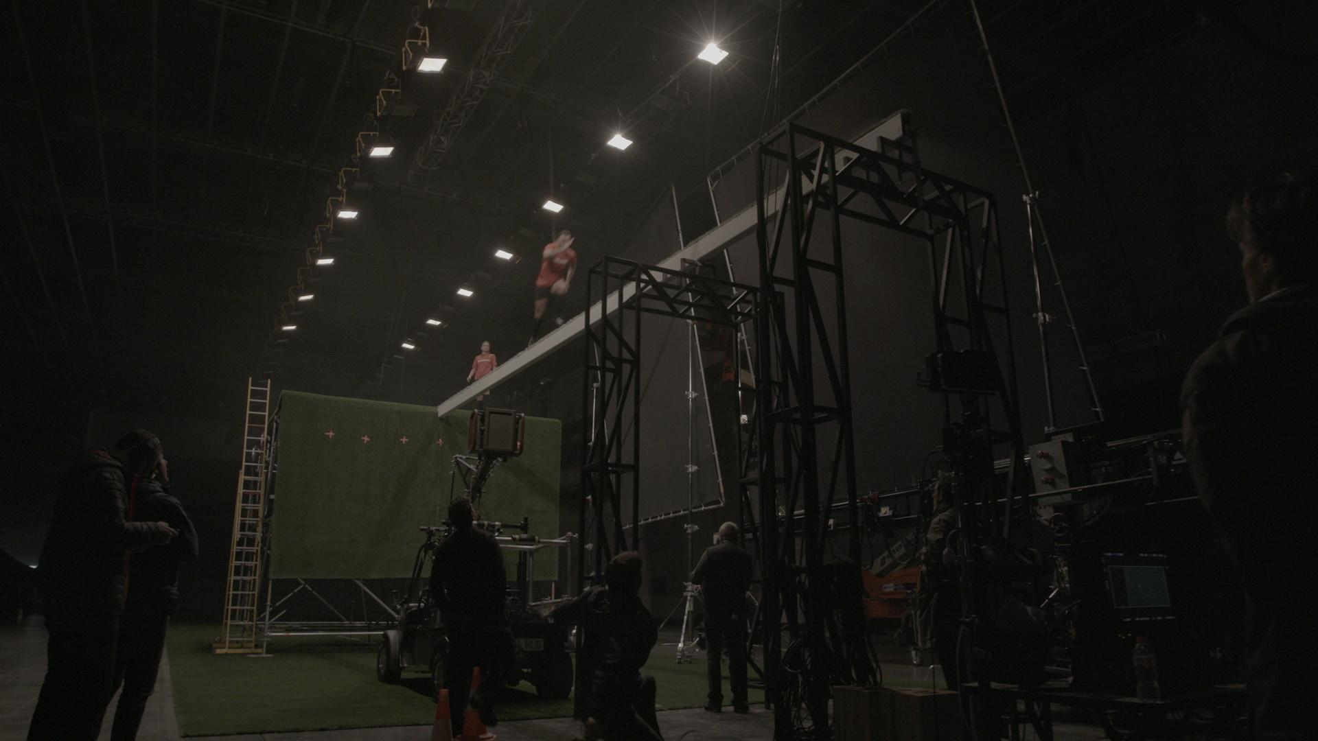 Ana Aguero on beam