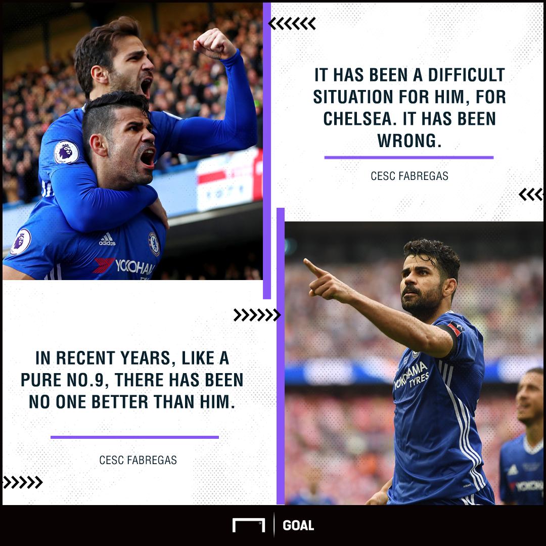 Cesc Fabregas Diego Costa Chelsea wrong