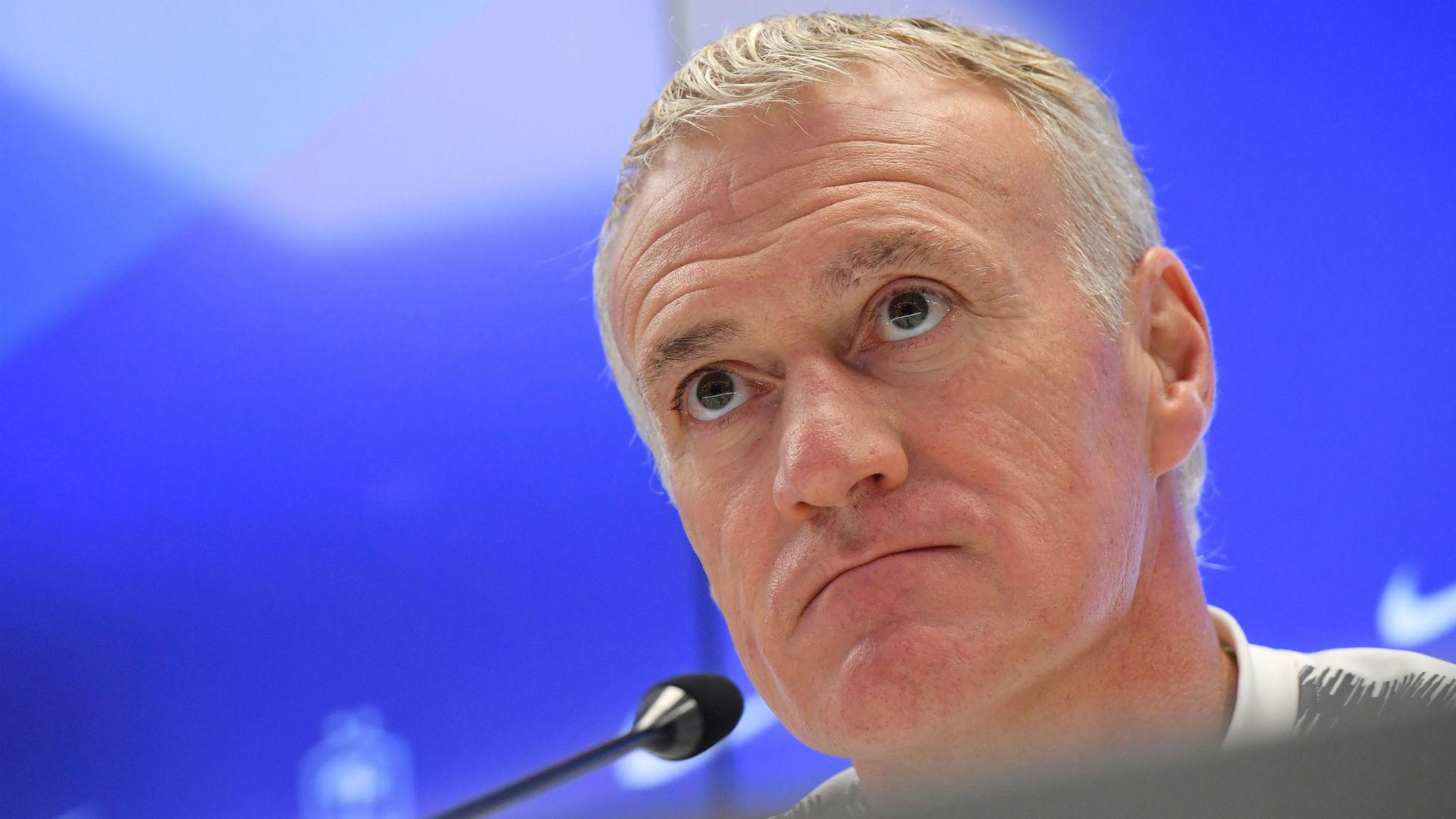 """Equipe de France, Didier Deschamps : """"Areola ? S'il ne joue pas au Real, ça peut devenir problématique"""""""