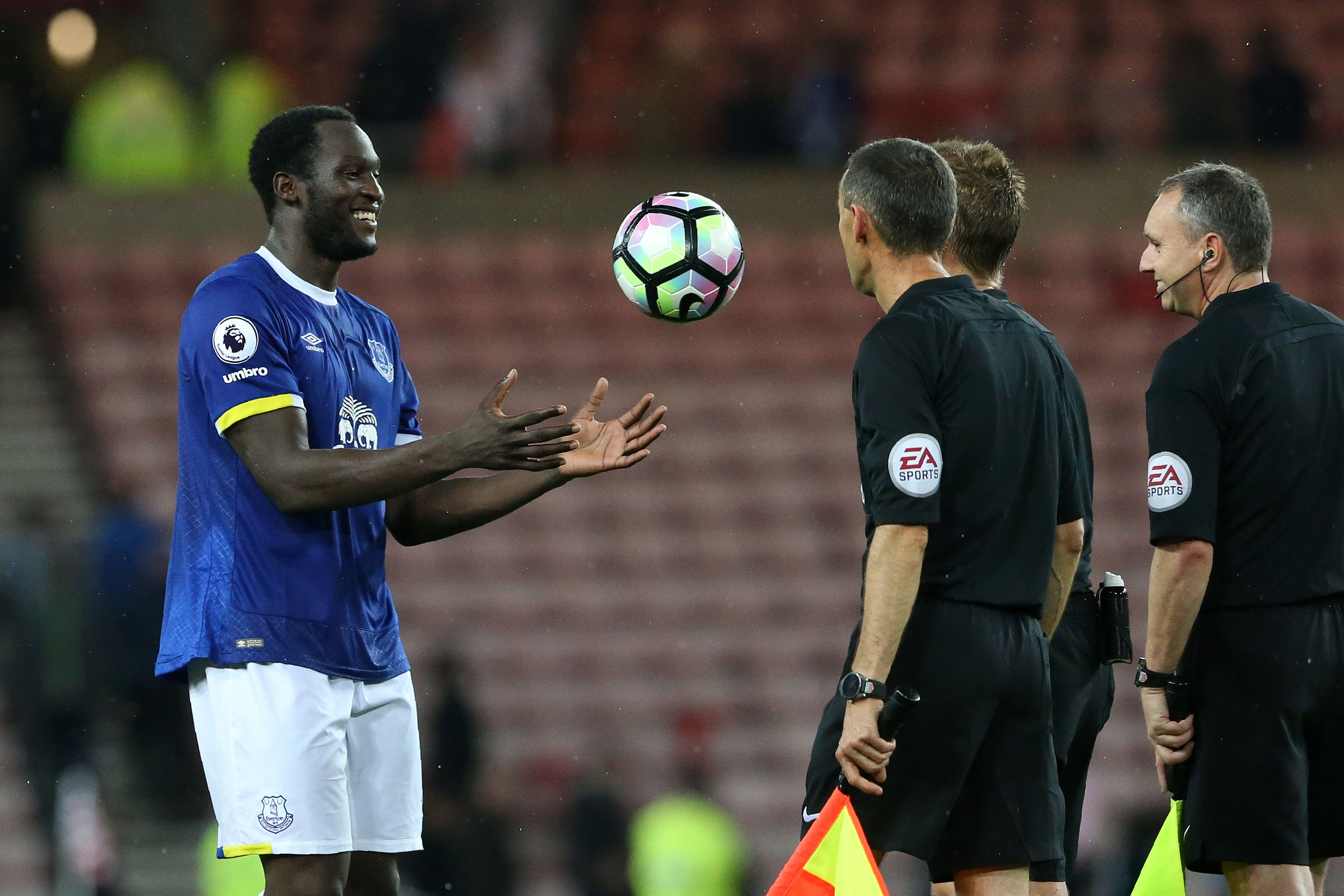 Romelu Lukaku Everton Sunderland 12102016