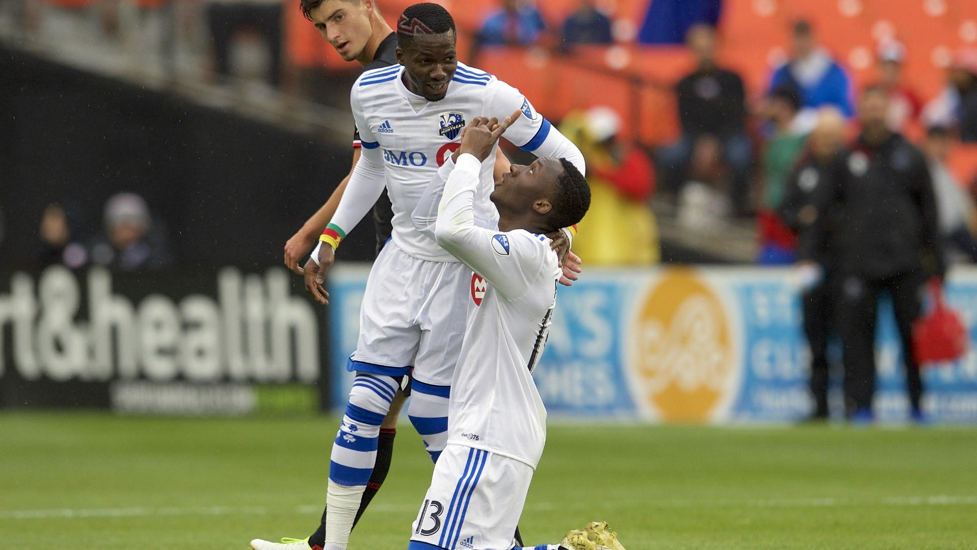Ballou Jean-Yves Tabla Ambroise Oyongo Montreal Impact
