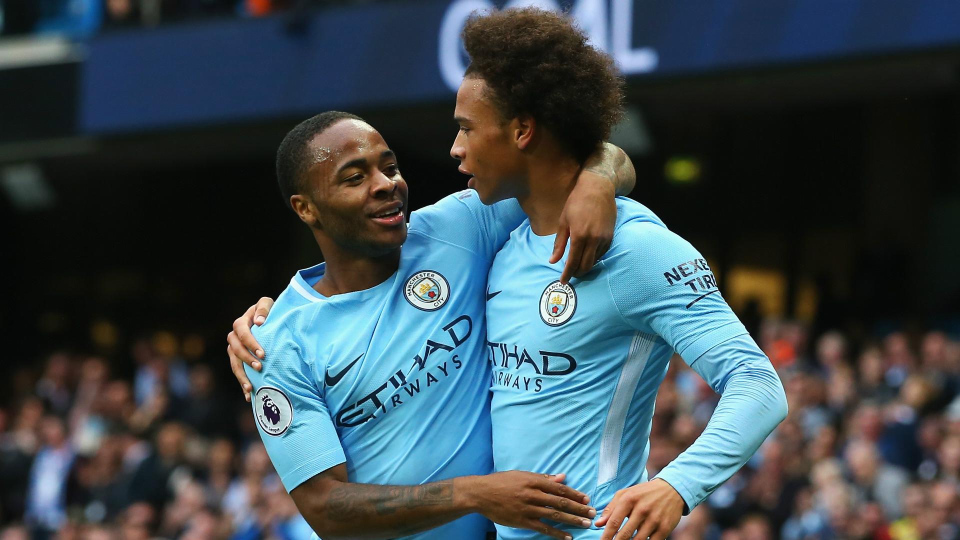 Raheem Sterling Leroy Sane Manchester City