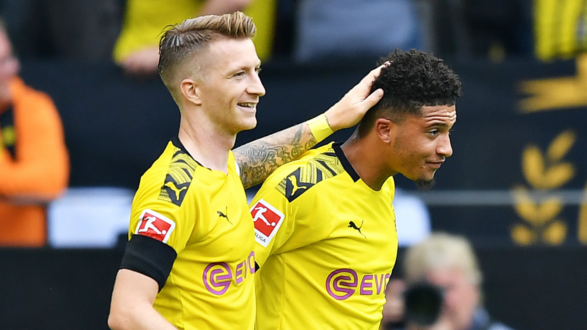 England star Sancho reveals Reus's Dortmund warning