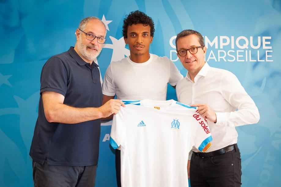 Luiz Gustavo Olympique Marseille