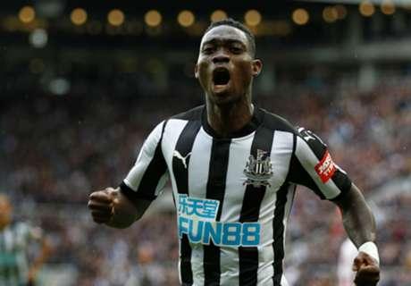 Newcastle's Atsu eyes Crystal Palace win