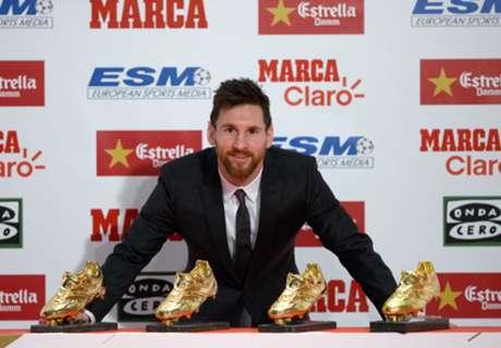 Soulier d'Or 2017, Messi estime avoir
