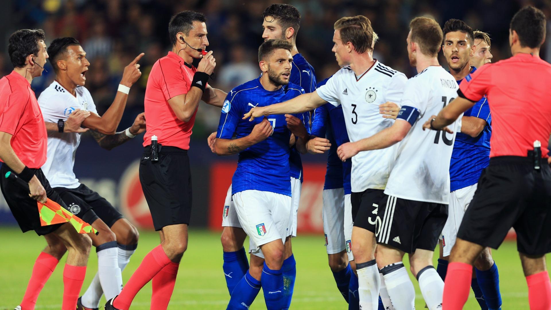 Eslovaquia acusa a Italia y Alemania de amañar un partido