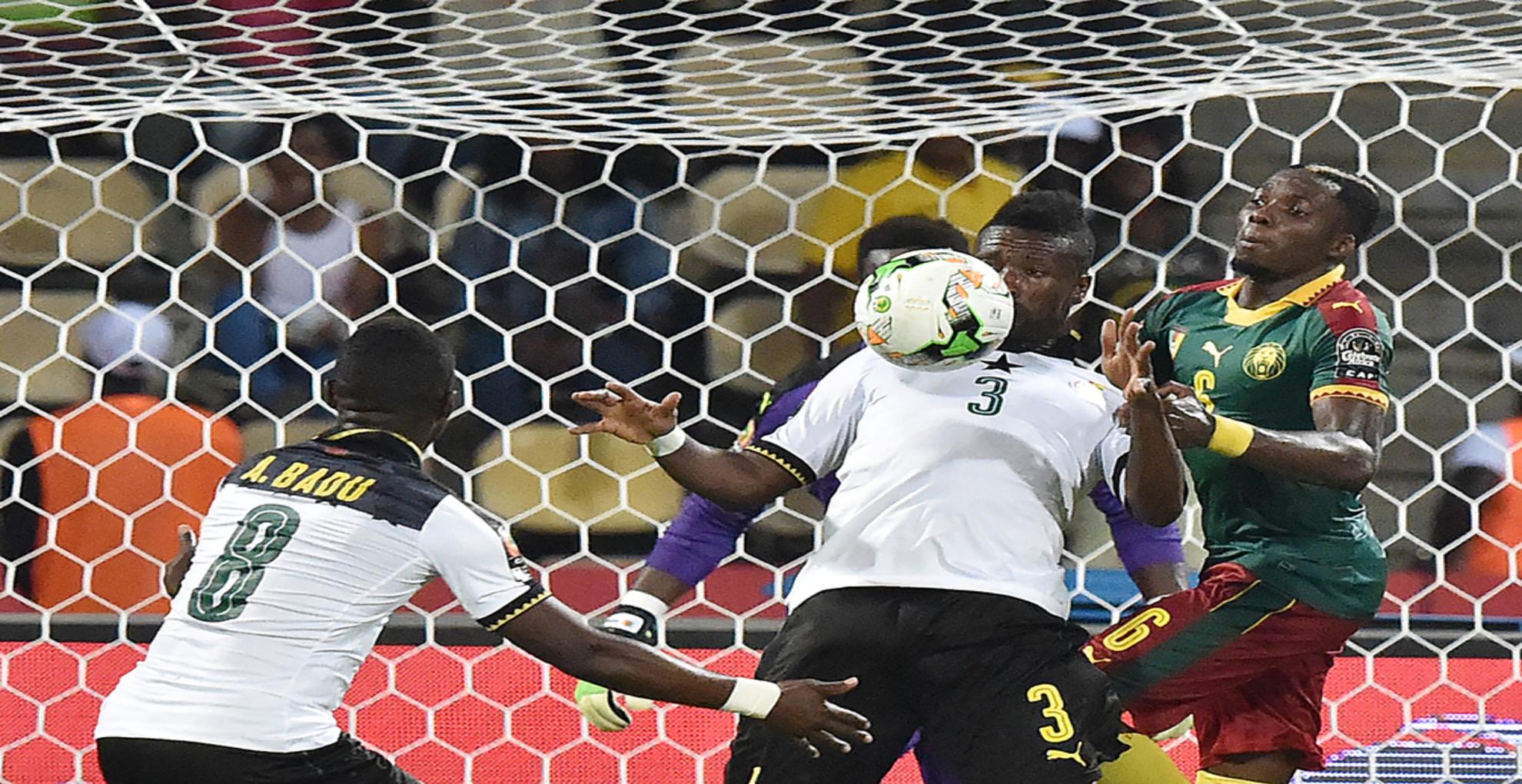 Asamoah Gyan vs Cameroon , Afcon 2017
