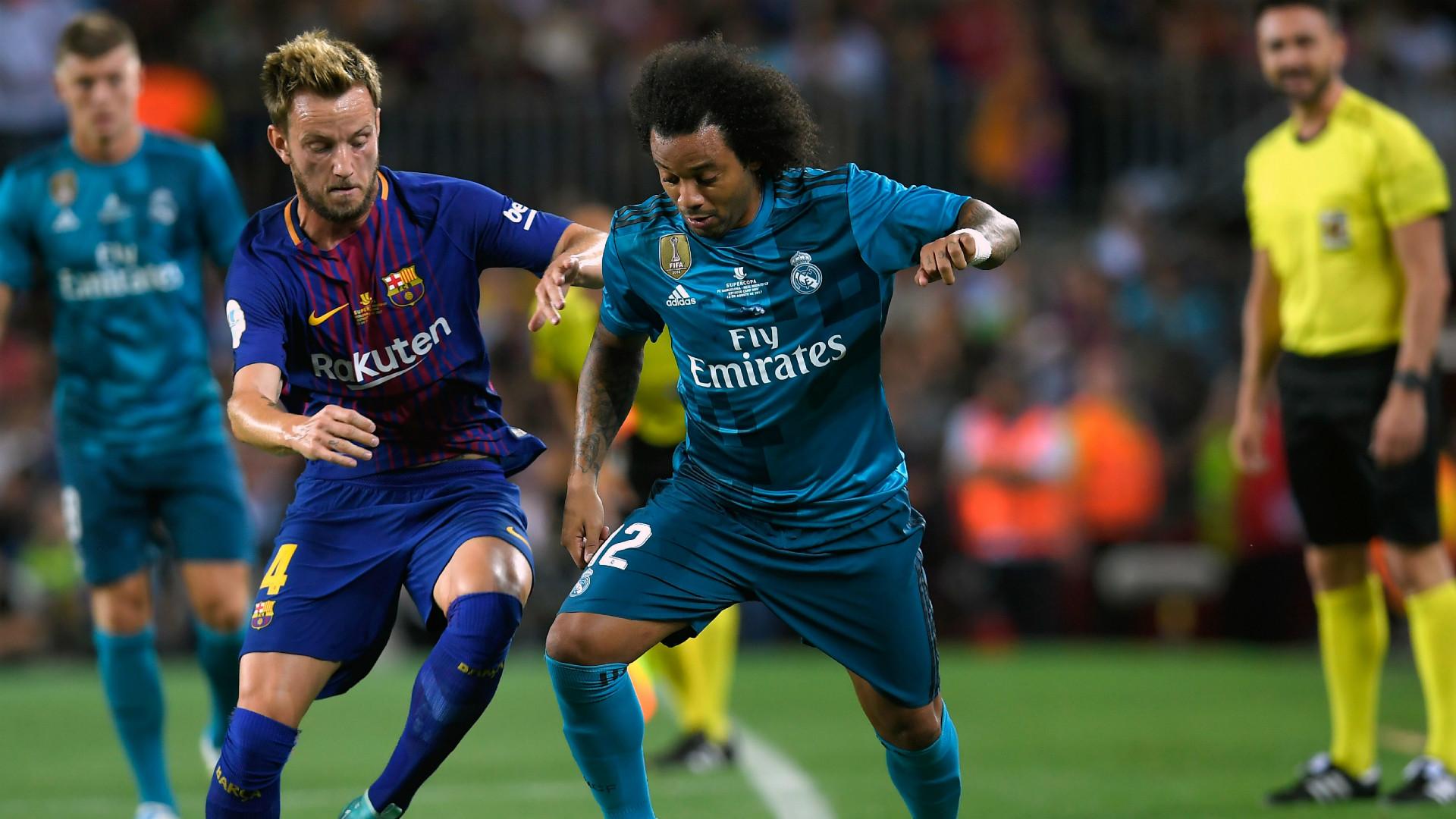 Rakitic Marcelo Barcelona Real Madrid Supercopa España