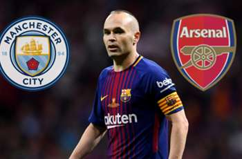 Transfer news & rumours LIVE: Man City and Arsenal battle for Iniesta