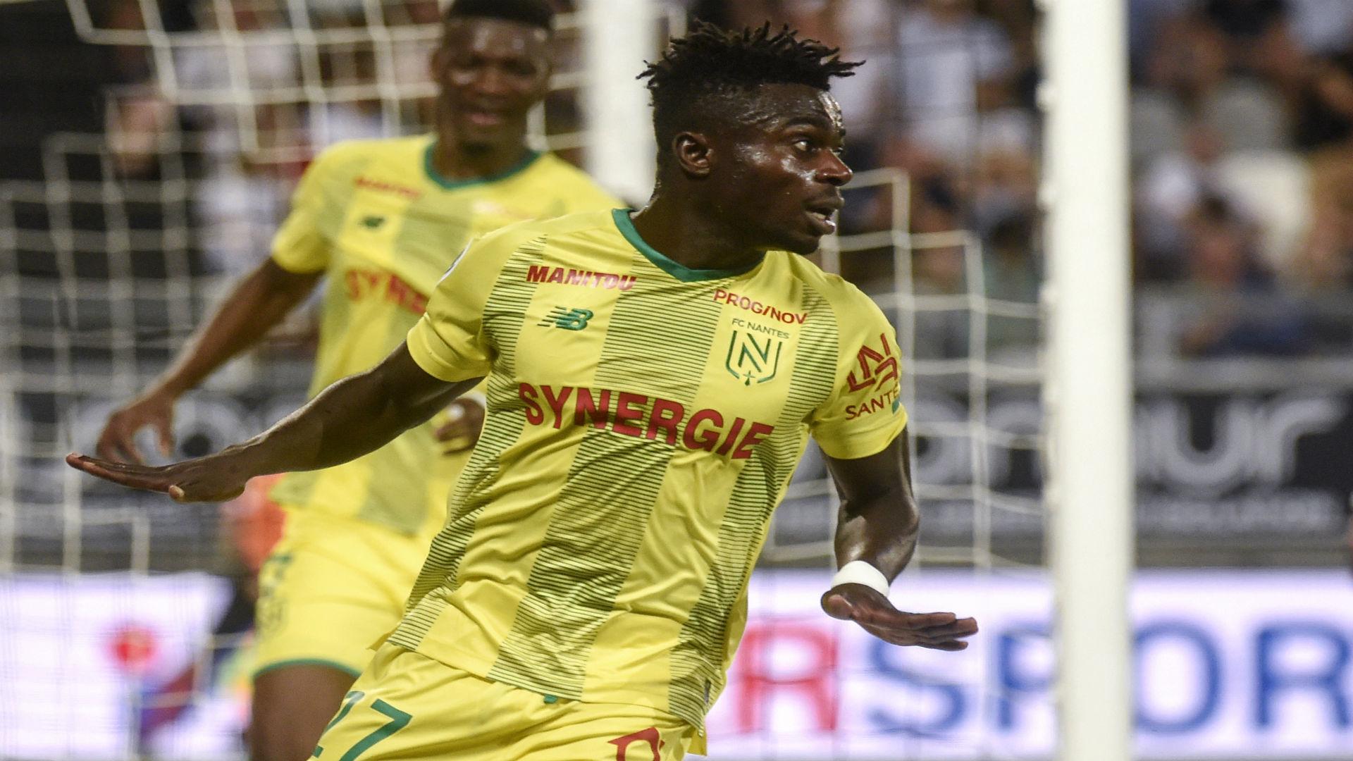 Nantes' Simon scores hat-trick as Paris FC suffer French League Cup obliteration