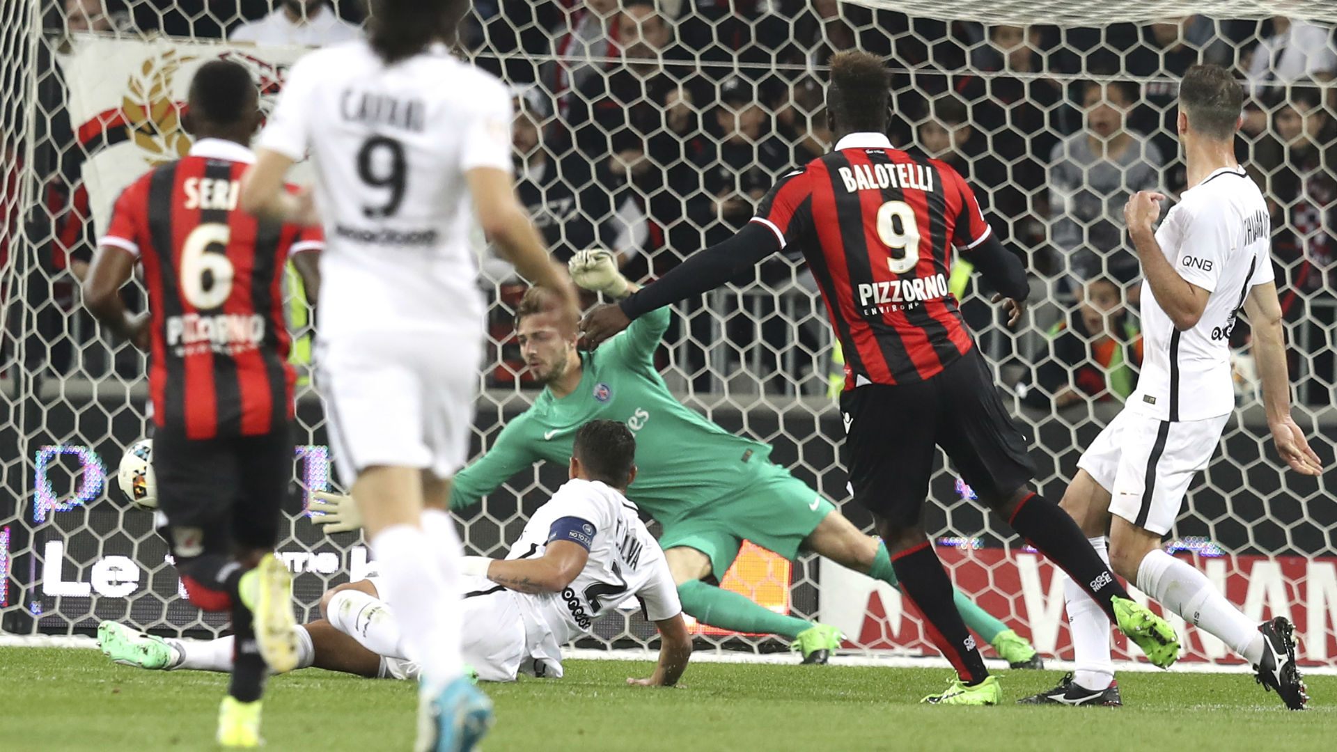 Francia: Nizza batte PSG 3-1