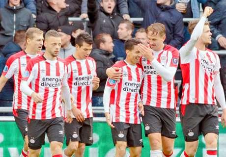 PSV wint en legt de druk bij Ajax en Feyenoord